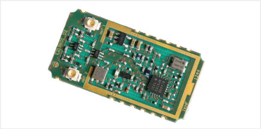 IKM-D2S Funkmodul von IK Elektronik für die Datenübertragung bei 433 und 868MHz