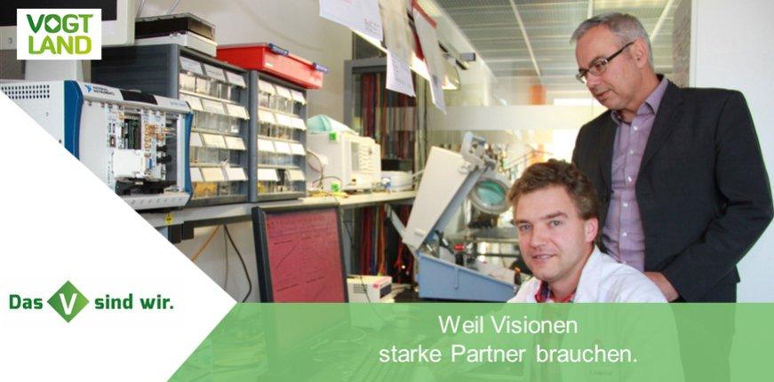 Jan-Erik Kunze, Inhaber und Geschäftsführer von IK Elektronik, ist Botschafter des Vogtlandes