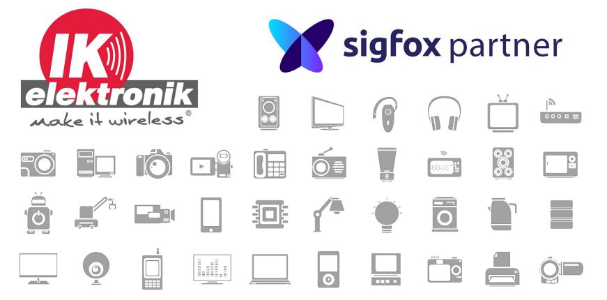 IK Elektronik und SigFox kooperieren.