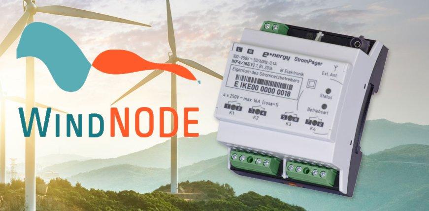 WindNODE nutzt den StromPager von IK Elektronik.