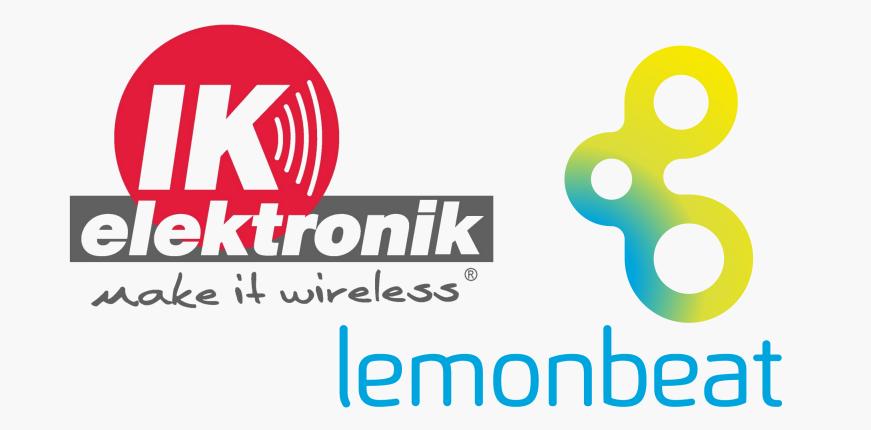 Enge Kooperation zwischen IK Elektronik und Lemonbeat im Bereich IoT.