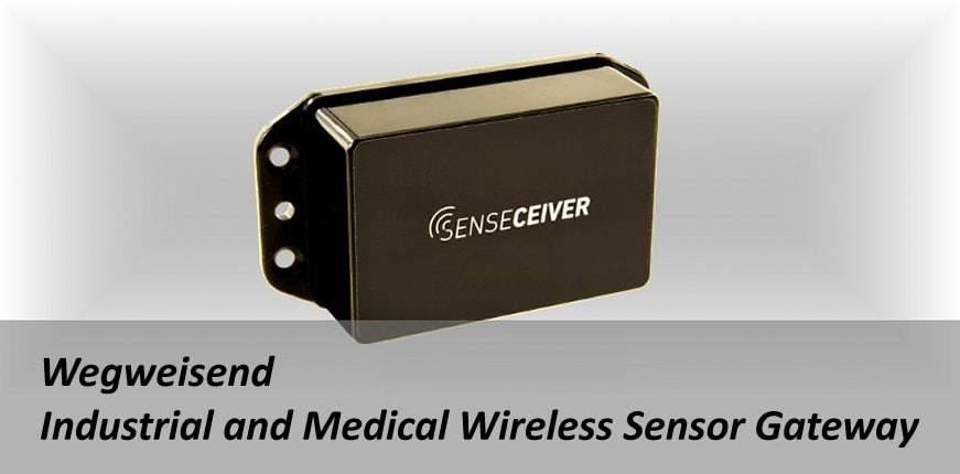 Senseceiver von Round Solutions - Industrial and Medical Wireless Sensor Gateway