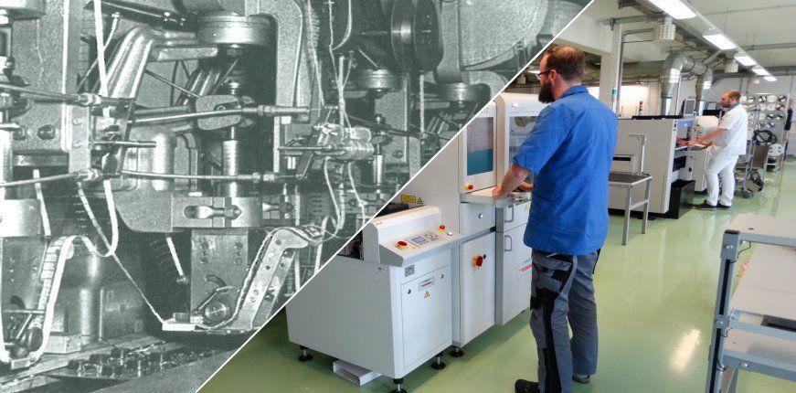 Elektronikfertigung bei IK Elektronik - EMS Dienstleister