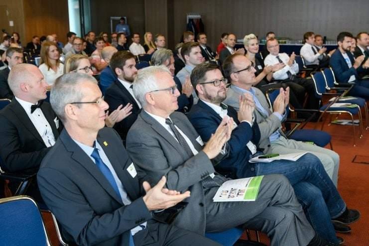Besucher des Energy Saxony Summit 2018
