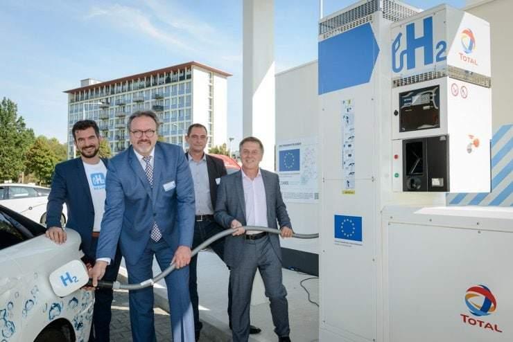Wasserstoff als Energieträger auf dem Energy Saxony Summit 2018