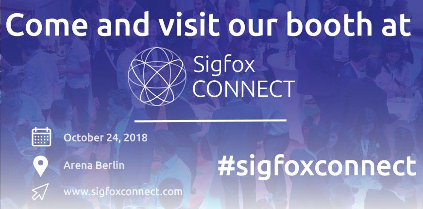 IK Elektronik auf der Sigfox Connect 2018 in Berlin