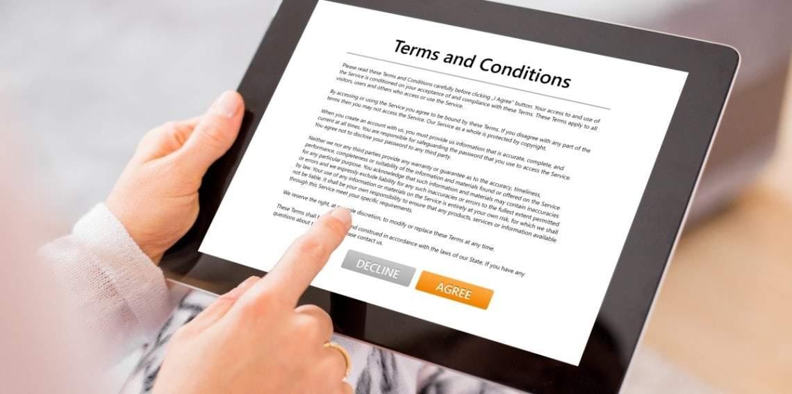 Geschäftsbedingungen und Dokumente von IK Elektronik