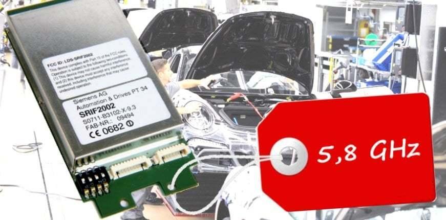 5,8 GHz Funkmodul SRIF-2002 von IK Elektronik