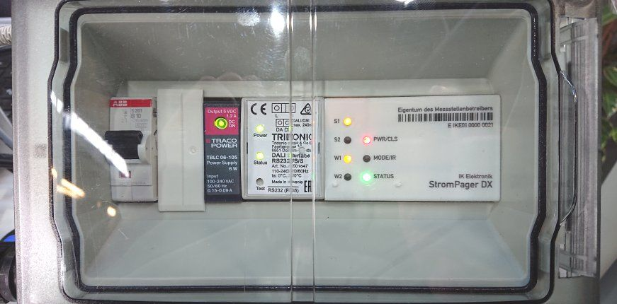 Steuerbox für Beleuchtungssteuerung von IK Elektronik