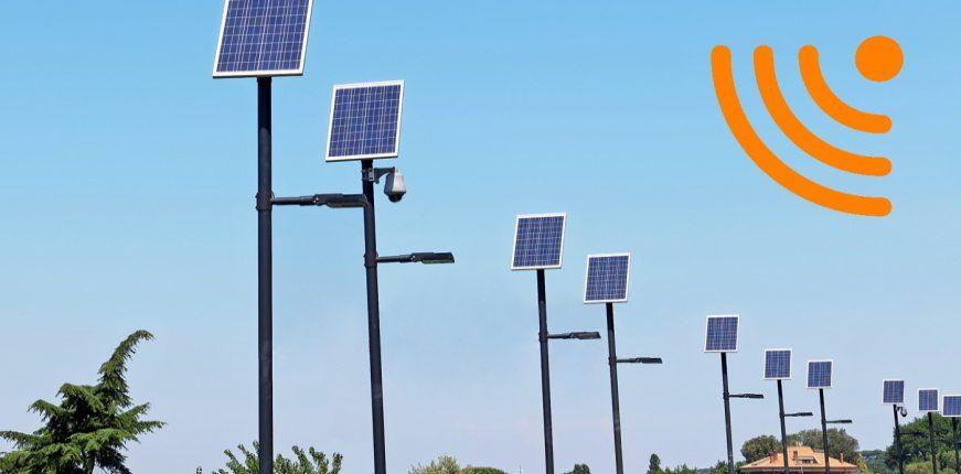 Beleuchtungssteuerung mit Strompager DX und Sigfox für Smarte Straßenleuchten