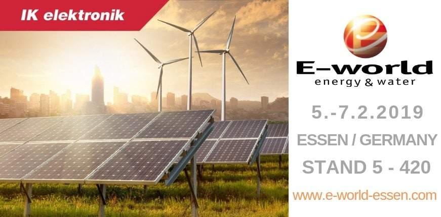 IK Elektronik auf der E-World 2019 in Essen