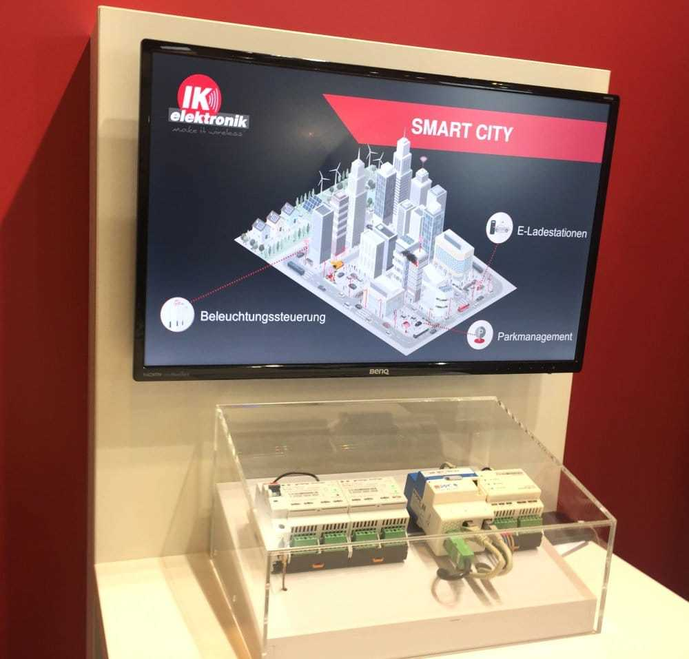 Smart City Demonstrator von IK Elektronik