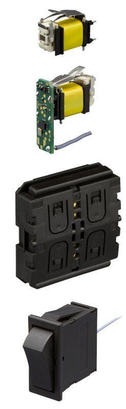 Energieautarke Funkschalter von ZF und IK Elektronik