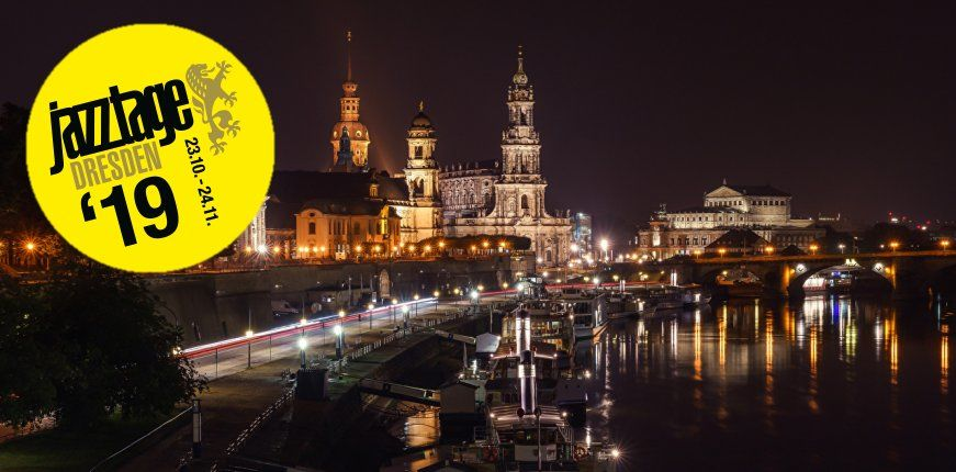 Jazztage Dresden 2019 - IK Elektronik verlust 2 x 5 Gutscheine für Tickets.