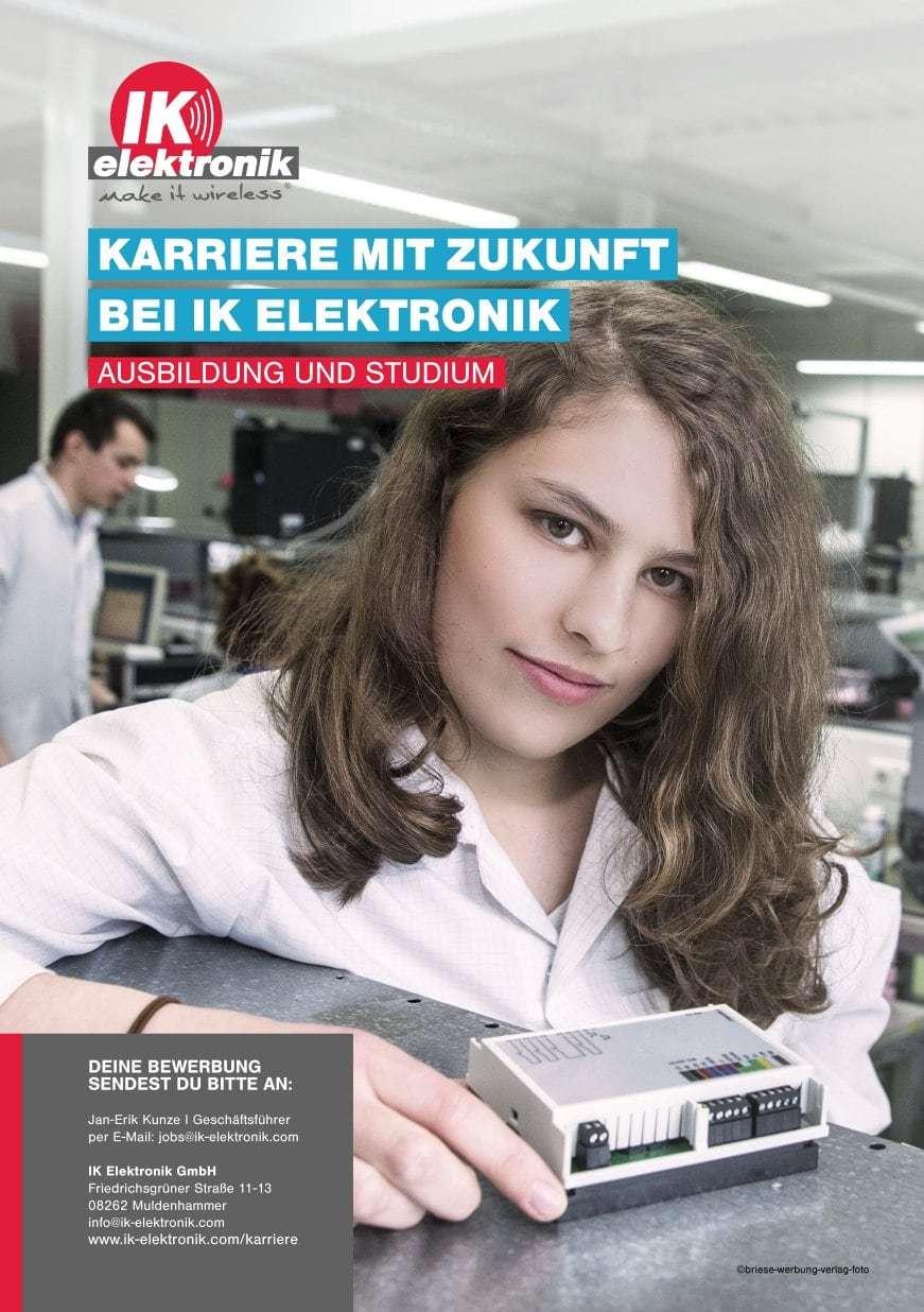 Karriere mit Zuknuft bei IK Elektronik - Ausbildung und Studium