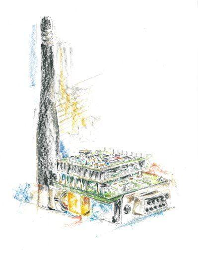 Industrietechnik: Funkdatentransceiver von IK Elektronik