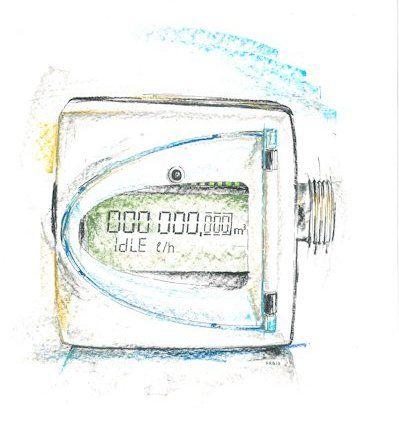 Smart Meter: Wasserzähler von IK Elektronik