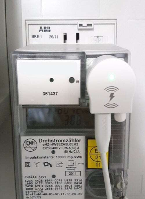 MCA als MeterExtension #3 am Stromzähler
