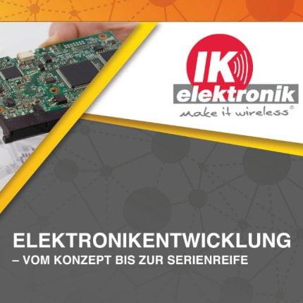 Elektronikentwicklung bei IK Elektronik, Smart Meters, Smart Home, Smart City, Funkelektronik