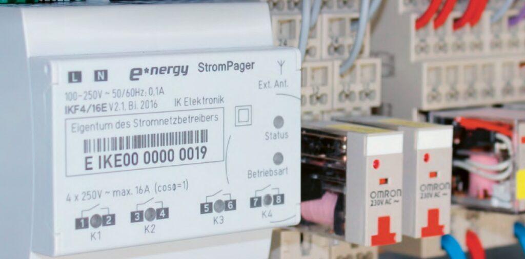 StromPager DX von IK Elektronik im Projekt WindNode