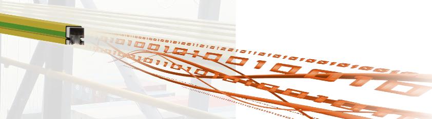 Schlitzhohlleiter zur Datenübertragung, IK Elektronik